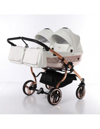 Wózek dziecięcy 4w1 Mirror Satin DUO