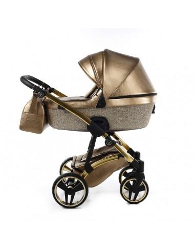 Wózek dziecięcy 3w1 Junama Glitter